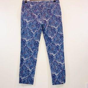 Talbots Pants - Talbots Paisley Print Ankle Pants - #1148